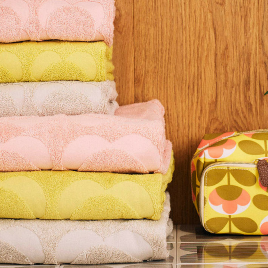 Orla Keily Sculpted Stem Towels from John Lewis