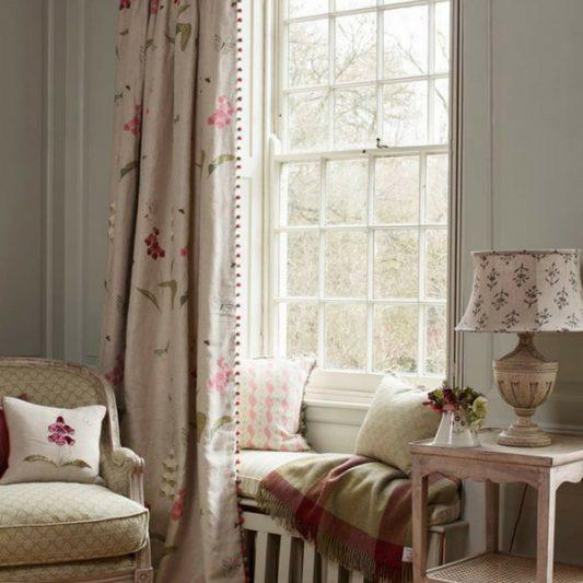 Susie Watson Designs Foxglove Fabric