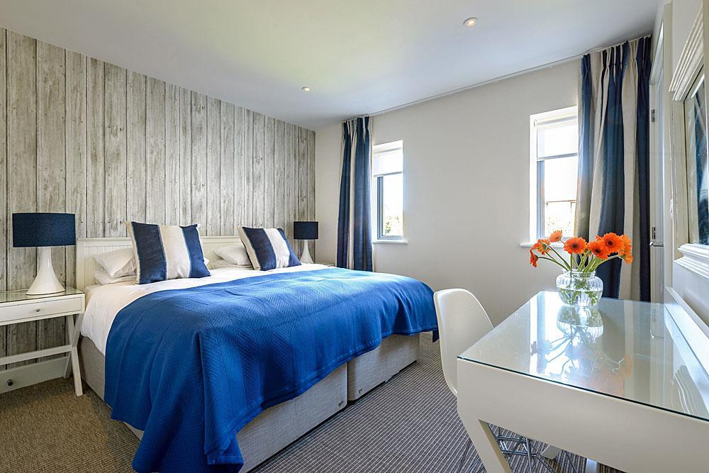Sea Mist coastal bedroom design