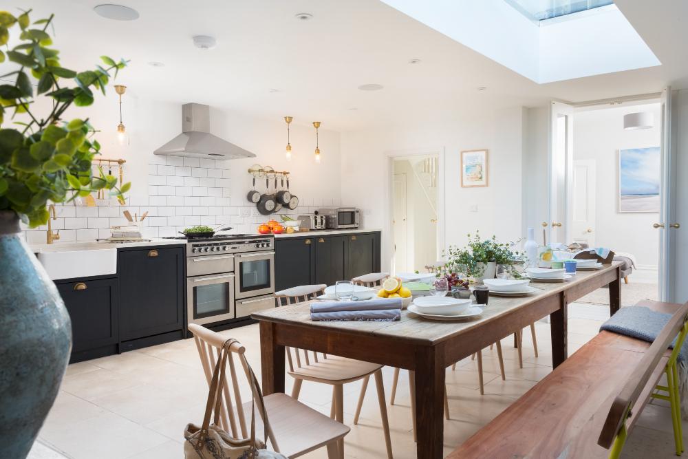 Luxury holiday home interiors