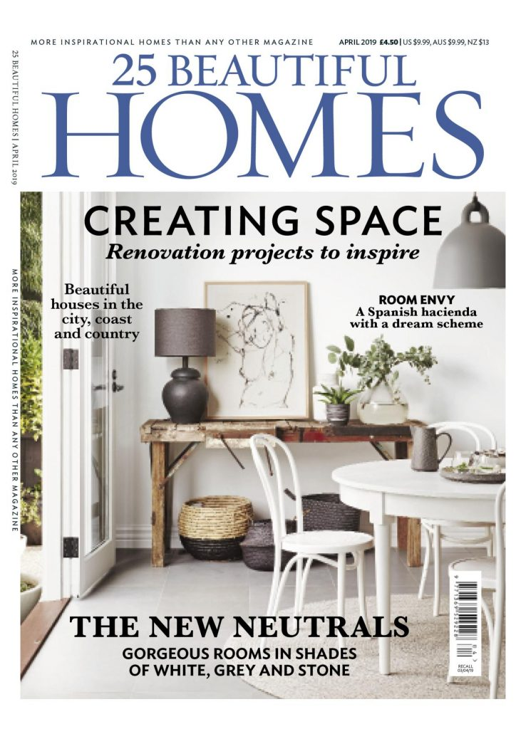 25 Beautiful Homes April Issue