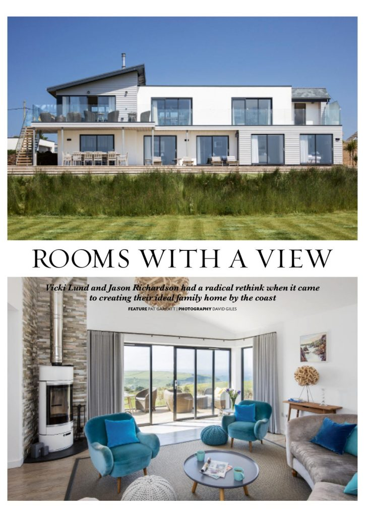 Rooms With A View 25 Beautiful Homes Magazine April Issue 2019