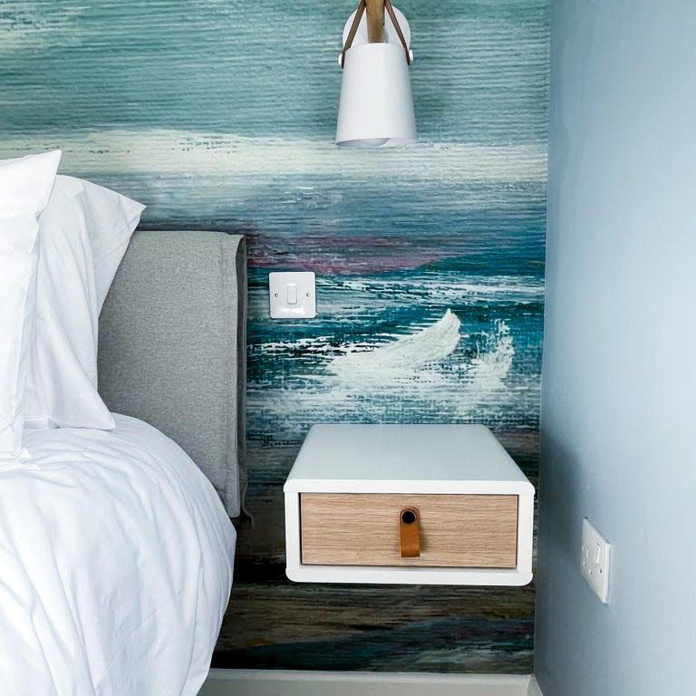 Coastal Theme Master Bedroom