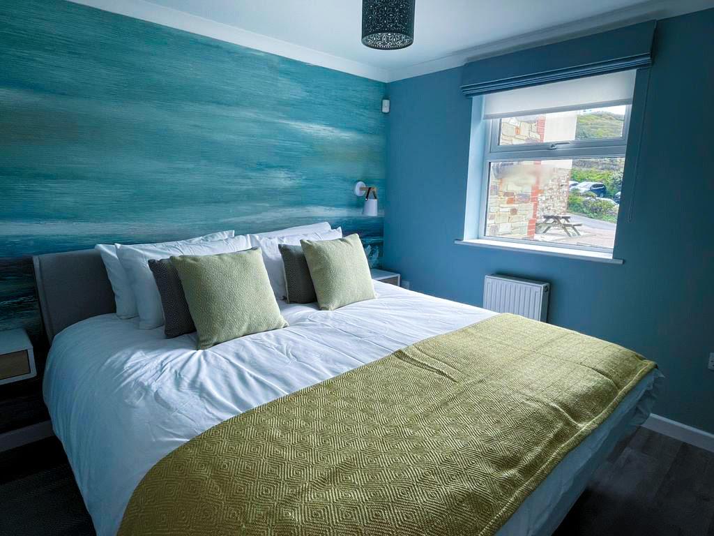 Contemporary Coastal Master Bedroom