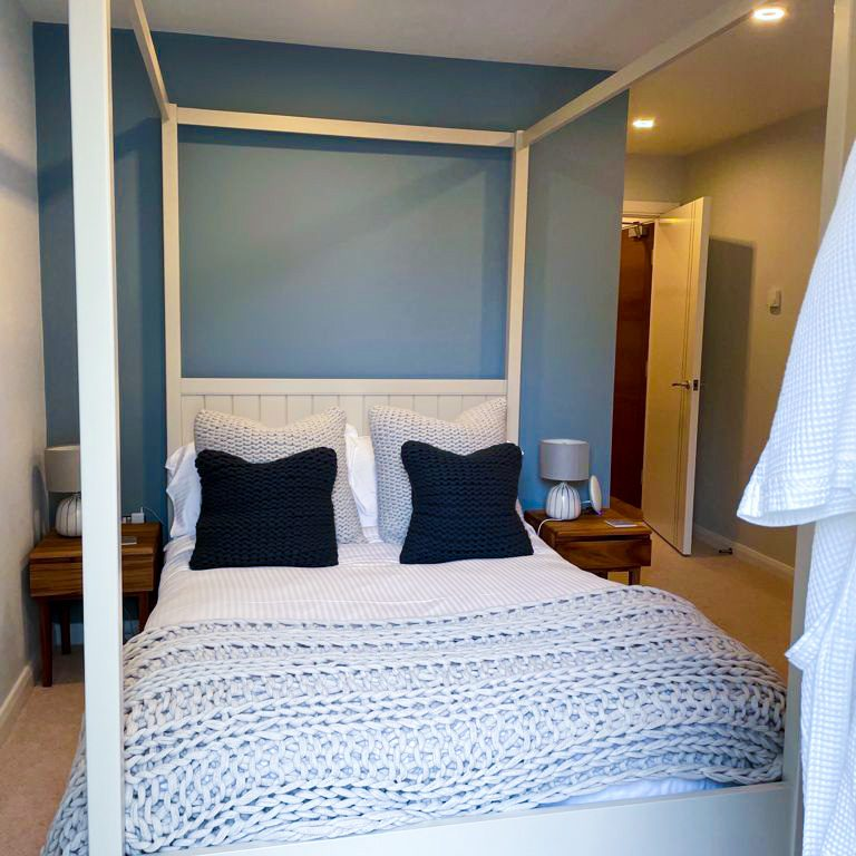 Chic Coastal Bedroom for clients' daughter