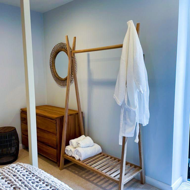 Light and breezy coastal bedroom design