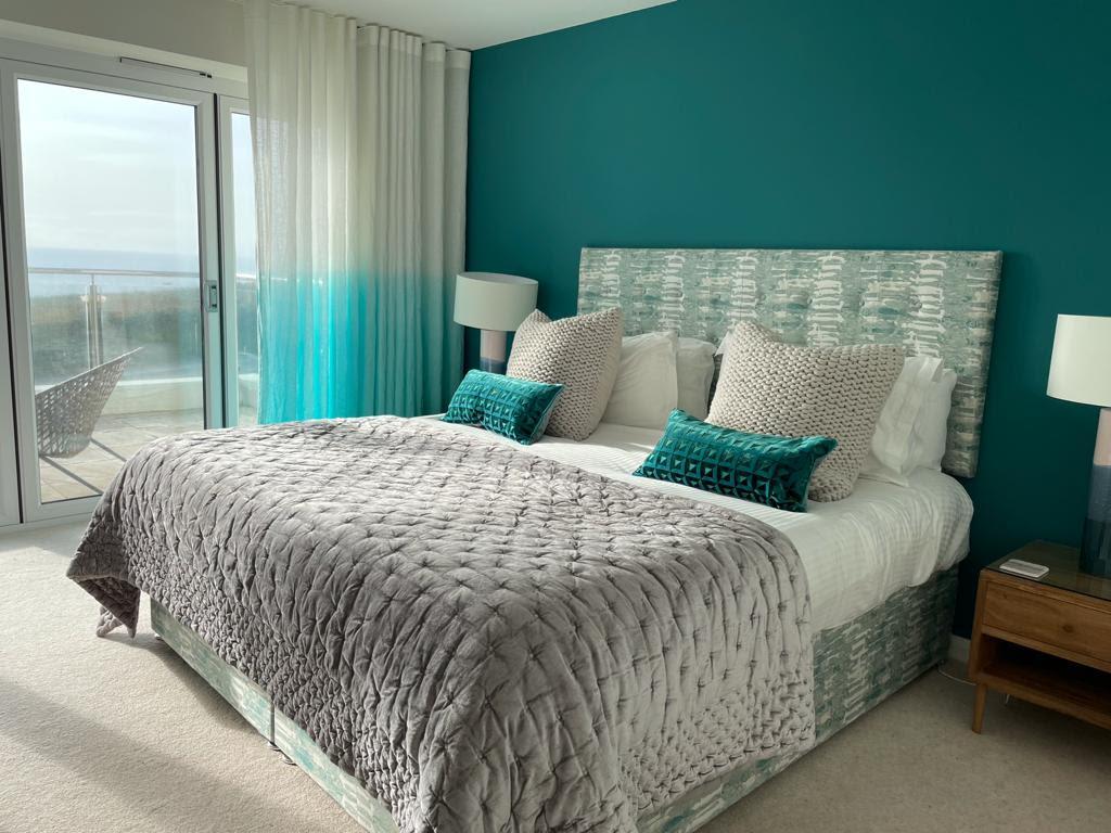 Watergate View Coastal Master Bedroom